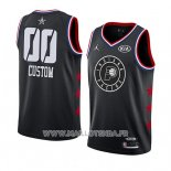 Maillot All Star 2019 Indiana Pacers Personnalise Noir