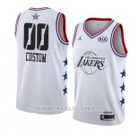 Maillot All Star 2019 Los Angeles Lakers Personnalise Blanc