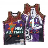 Maillot All Star Orlando Magic Penny Hardaway No 1 Hardwood Classics Mitchell & Ness Volet
