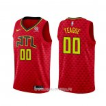 Maillot Atlanta Hawks Jeff Teague NO 0 Statement 2020-21 Rouge
