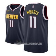 Maillot Denver Nuggets Monte Morris No 11 Icon 2018-19 Bleu