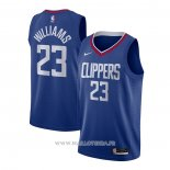 Maillot Los Angeles Clippers Lou Williams NO 23 Icon 2020-21 Azul