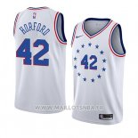 Maillot Philadelphia 76ers Al Horford No 42 Earned 2019-20 Blanc