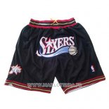 Short Philadelphia 76ers Just Don Noir