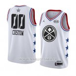 Maillot All Star 2019 Denver Nuggets Personnalise Blanc