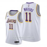 Maillot Los Angeles Lakers Dion Waiters No 11 Association 2020 Blanc