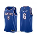 Maillot New York Knicks Elfrid Payton NO 6 Statement 2019-20 Bleu