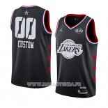 Maillot All Star 2019 Los Angeles Lakers Personnalise Noir