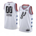 Maillot All Star 2019 San Antonio Spurs Personnalise Blanc
