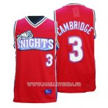 Maillot Film Knights Calvin Cambridge No 3 Rouge
