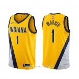 Maillot Indiana Pacers T.j. Mcconnell No 9 Earned 2019-20 Blanc