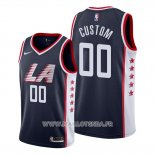 Maillot Los Angeles Clippers Personalizad Ville 2019 Bleu