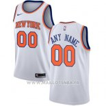 Maillot New York Knicks Personnalise 2017-18 Blanc