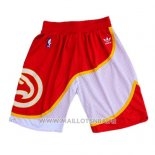 Short Atlanta Hawks Hardwood Classics Rouge