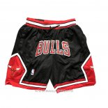 Short Chicago Bulls Just Don Noir3