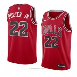 Maillot Chicago Bulls Otto Porter Jr. NO 22 Mitchell & Ness Big Face Noir