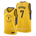 Maillot Indiana Pacers Malcolm Brogdon No 7 Statement Or