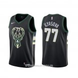 Maillot Milwaukee Bucks Ersan Ilyasova NO 77 Statement Noir