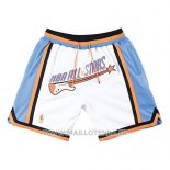 Short All Star 1997 Mitchell & Ness Just Don Blanc