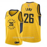 Maillot Indiana Pacers Jeremy Lamb No 26 Statement Or