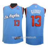 Maillot Los Angeles Clippers Paul George No 13 2019-20 Bleu