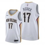 Maillot New Orleans Pelicans J.j. Redick No 17 Association Blanc
