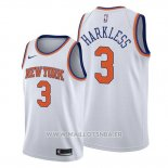Maillot New York Knicks Maurice Harkless No 3 Association 2019-20 Blanc