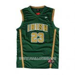Maillot St. Vincent-st. Mary Lebron James No 23 Vert