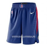 Short Los Angeles Clippers Icon 2018 Bleu