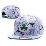 Casquette Boston Celtics 9FIFTY Snapback Blanc2