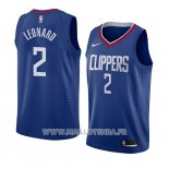 Maillot Los Angeles Clippers Kawhi Leonard No 2 Icon 2019-20 Bleu