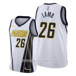 Maillot Indiana Pacers Jeremy Lamb No 26 Earned Blanc