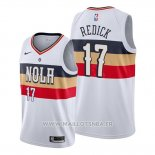 Maillot New Orleans Pelicans J.j. Redick No 17 Earned Blanc