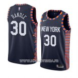 Maillot New York Knicks Julius Randle No 30 Ville 2019 Bleu