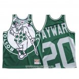 Maillot Boston Celtics Gordon Hayward NO 20 Mitchell & Ness Big Face Vert