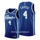 Maillot Los Angeles Lakers Alex Caruso No 4 Classic Edition 2019-20 Bleu