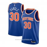 Maillot New York Knicks Julius Randle NO 30 Icon 2020-21 Azul
