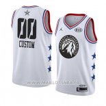 Maillot All Star 2019 Minnesota Timberwolves Personnalise Blanc