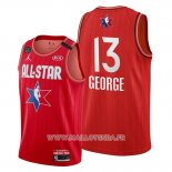 Maillot All Star 2020 Los Angeles Clippers Paul George No 13 Rouge