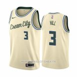 Maillot Milwaukee Bucks George Hill No 3 Ville Crema