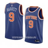 Maillot New York Knicks R.j. Barrett No 9 Icon 2019-20 Bleu