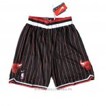 Short Chicago Bulls Rouge Noir