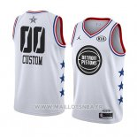 Maillot All Star 2019 Detroit Pistons Personnalise Blanc