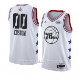 Maillot All Star 2019 Philadelphia 76ers Personnalise Blanc