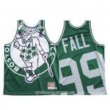 Maillot Boston Celtics Tacko Fall NO 99 Mitchell & Ness Big Face Vert