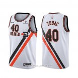 Maillot Los Angeles Clippers Ivica Zubac NO 40 Classic Edition 2019-20 Blanc
