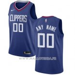 Maillot Los Angeles Clippers Personnalise 2017-18 Bleu