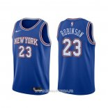 Maillot New York Knicks Mitchell Robinson NO 23 Statement 2019-20 Bleu