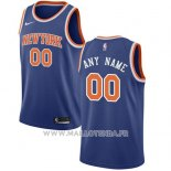 Maillot New York Knicks Personnalise 2017-18 Bleu