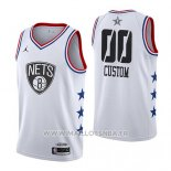 Maillot All Star 2019 Brooklyn Nets Personnalise Blanc